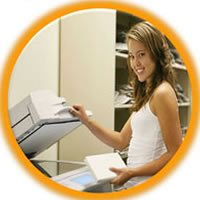 Copy and fax service